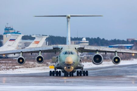 Russia Sends Plane Full of Medical Supplies to US