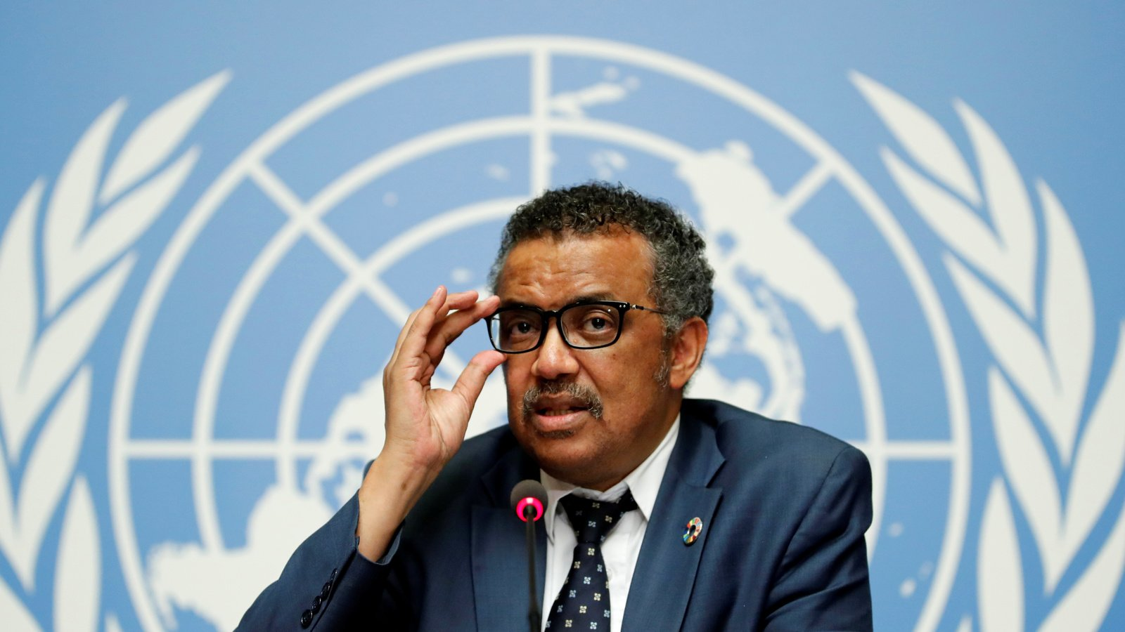 Tedros Adhanom Ghebreyesus, director-general of the World Health Organization