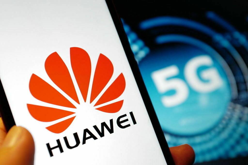 5G powered Huawei mobile phone