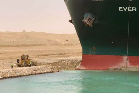 Ship Causes Major Traffic in the Suez Canal, Costs Companies Millions of Dollars