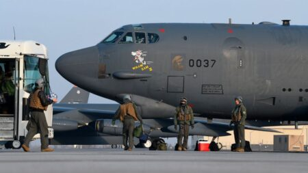 U.S flies two B-52 bombers over Iran amid heightened tensions and airstrikes