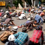 78 Killed In Myanmar As Military Cracks Down on Peaceful Protesters