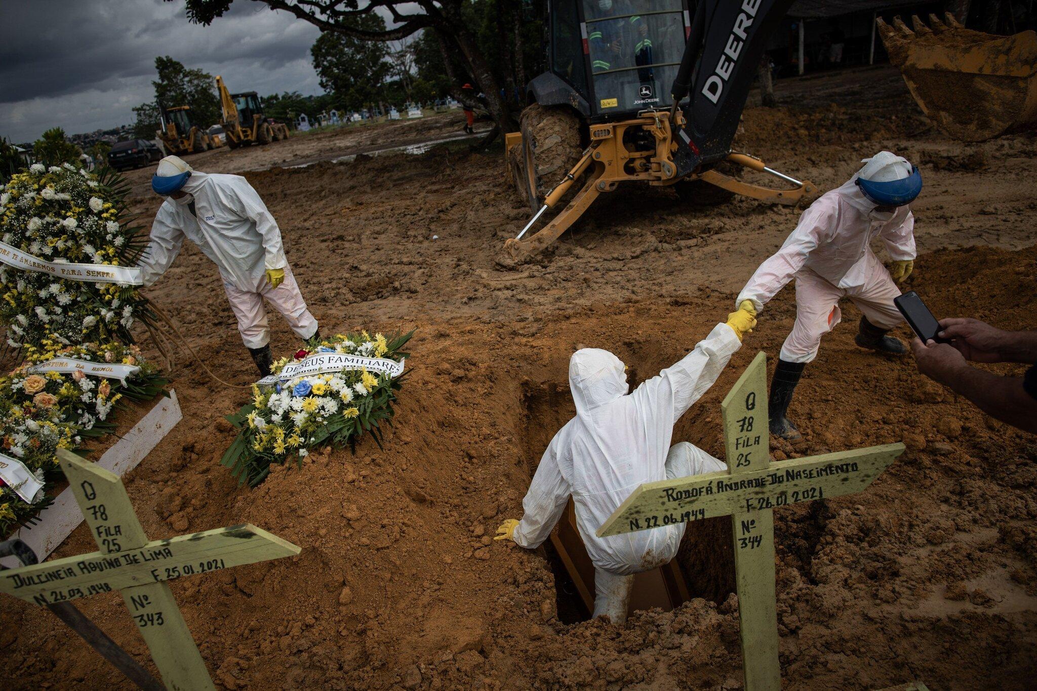 Mass grave in Brazil