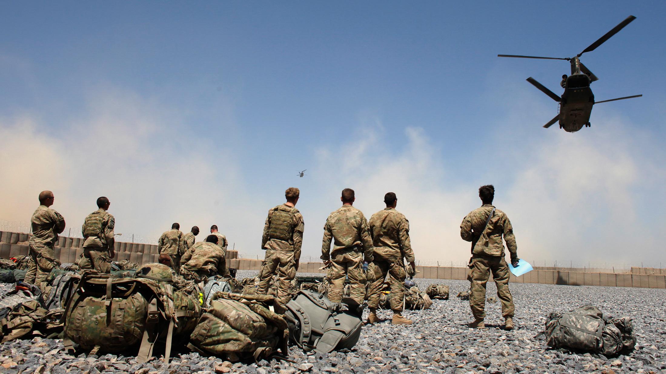 USA Troops in Afghanistan