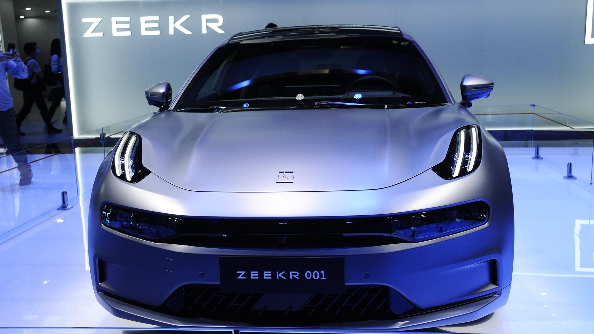 Geely's new brand; Zeekr