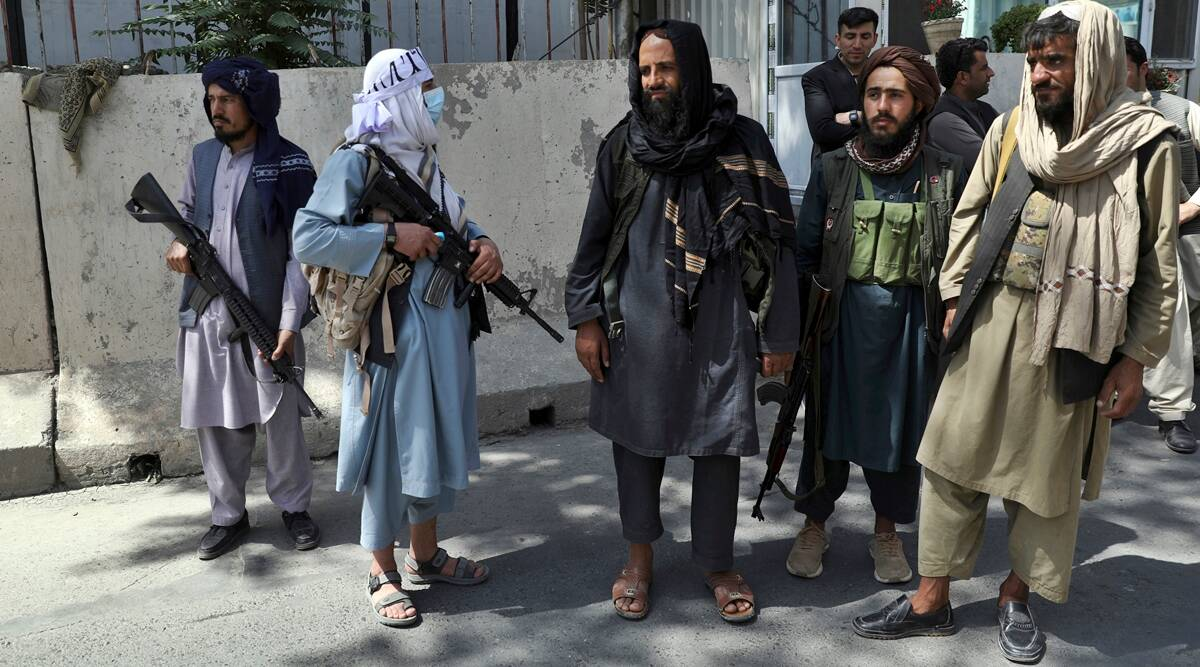 Talibans takeover of Afghanistan